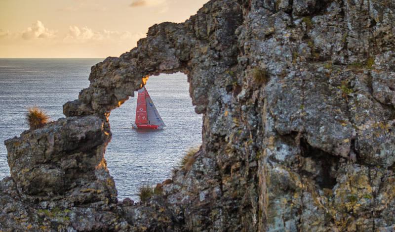 Volvo Ocean Race 2014-15 - Auckland Arrivals
