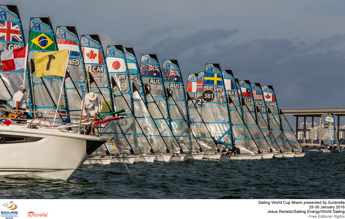 日本から2チーム出場した49erFX級