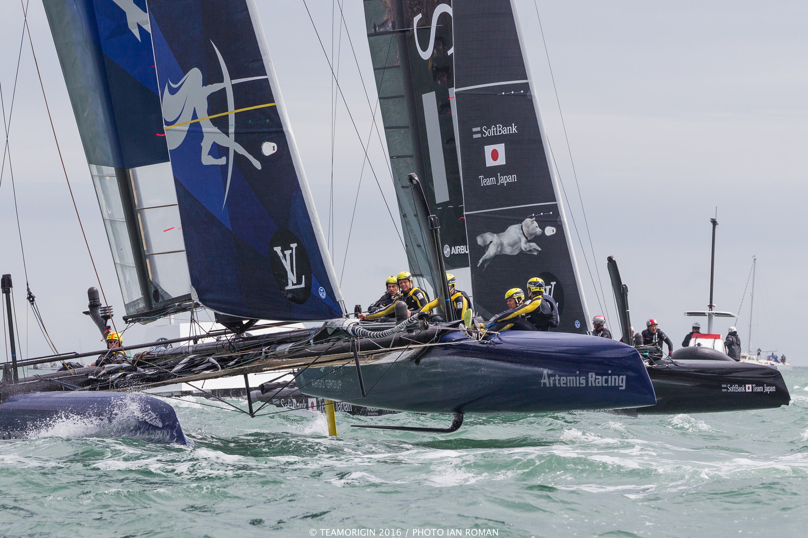 23/07/16 - Portsmouth (UK) - 35th America's Cup 2017 - Louis Vuitton America's Cup World Series Portsmouth - Racng Day 2