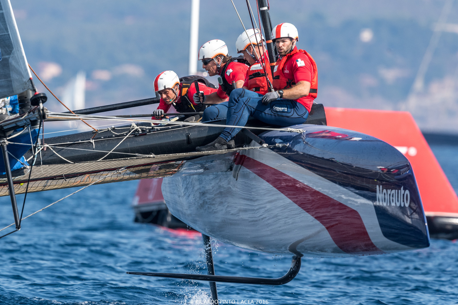 Racing Day 1 of Louis Vuitton America's Cup World Series Toulon
