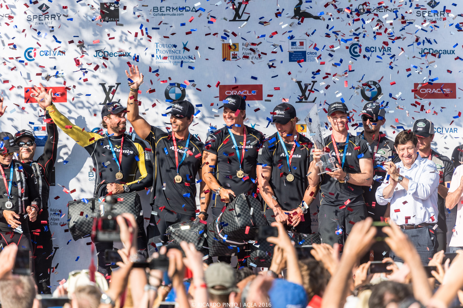 Racing Day 2 of Louis Vuitton America's Cup World Series Toulon