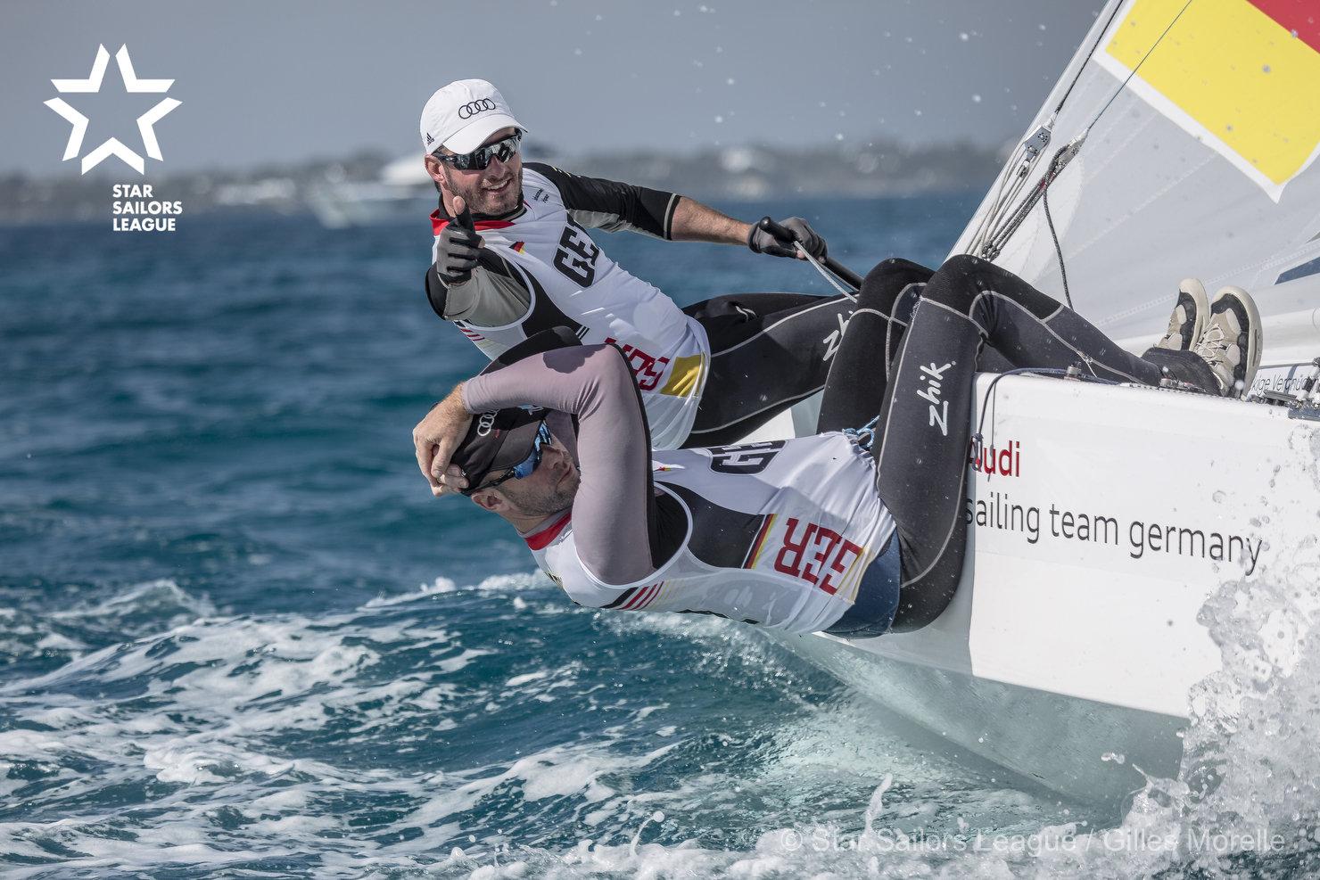 Bow: 05 // Sail: GER 8442 // Skipper: Johannes Polgar GER// Crew: Markus Koy GER