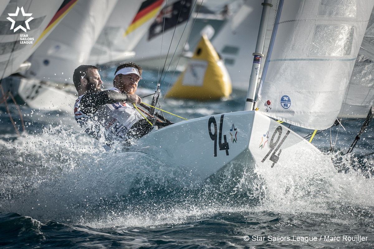 Bow: 94 // Sail: DEN 7829 // Skipper: Jonas Hogh-Christensen DEN // Crew: Steve Milne  GBR