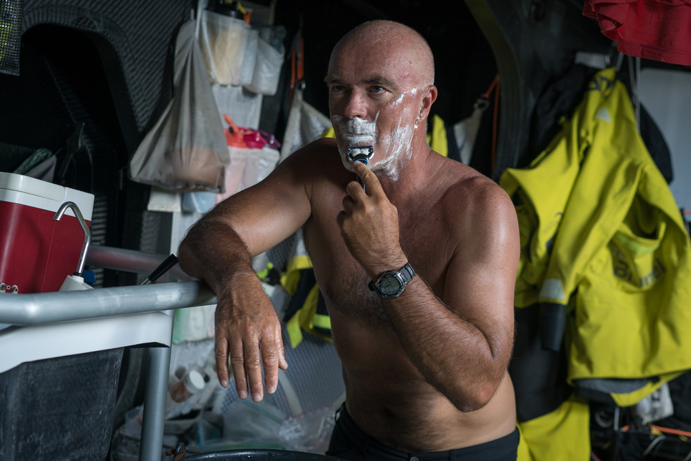 Leg 4, Melbourne to Hong Kong, day 09 on board Brunel .Photo by Yann Riou/Volvo Ocean Race. 10 January, 2018.