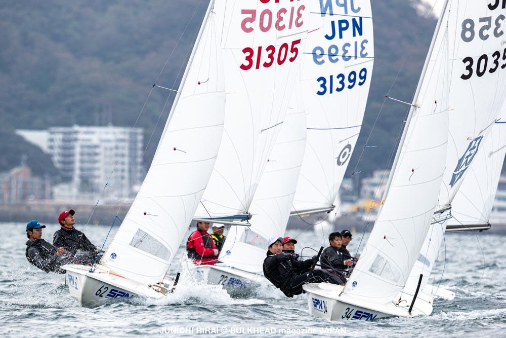 関東スナイプ協会が葉山沖でトレーニングレース実施