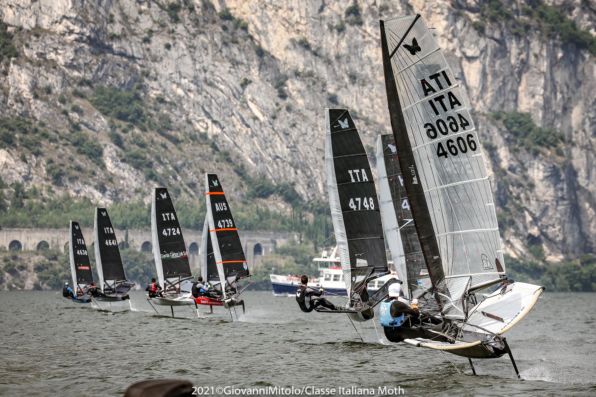 アメリカズカップ、SailGP王者が上位を独占。モスイタリア選手権